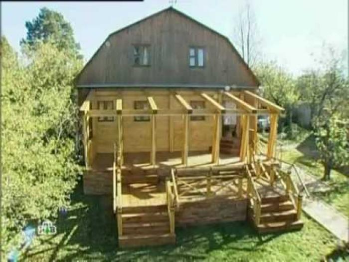 Как построить веранду на даче своими руками поэтапно видео